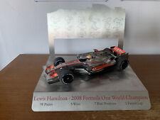 New listing Lewis Hamilton 1:18 Minichamps 2008 World Champion Presentation