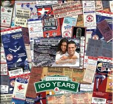 "Boston Red Sox Fenway Park 100 Years 12"" Ticket Scrapbook World Series Champions"