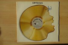 "Cliff Richard Autogramm signed LP-Cover ""40 Golden Hits"" Vinyl"