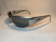 Arnette Catfish Vintage Sunglasses 09/6 Silver/ Silver Mirror lenses AN 222