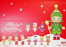 Kennyswork POP MART MOLLY CHRISTMAS Series 2016 Figure Full Box 12pc All Sealed