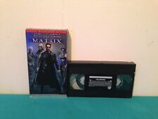 The matrix VHS tape & sleeve Special widescreen edition