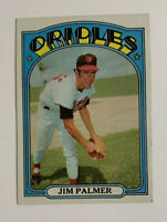 1972 Topps Jim Palmer # 270 Baseball Card Baltimore Orioles HOF