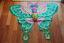 Cerf-volant chinois papillon vert 3D-Chinese kite-aquilone cinese-cometa china