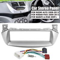 Car Stereo Radio Fascia ISO Wiring Harness Aerial Adaptor For Suzuki Alto