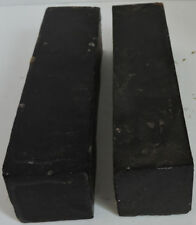 Two African Blackwood Granadilla Wood Blanks 1.75x7.75 Clarinet Mouthpieces Wood