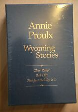 Annie Proulx : Wyoming Stories slipcased limited first edition set