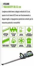 CORTASETOS CON BATERÍA 51 cm EGO POWER PROFESIONAL cortadores BRUSHLESS 5100E