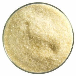 Glass Fusing Supplies 90 C.O.E. Bullseye Frit Light Amber Transparent  2oz