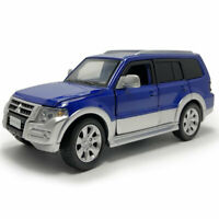 1:32 Mitsubishi Pajero SUV Die Cast Modellauto Spielzeug Model Sammlung Blau