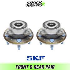 09-16 Cadillac CTS V V8 RWD Wheel Hub Bearings Pair OEM X-Tracker SKF BR930555