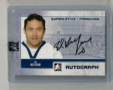 2008-09 IN THE GAME ED BELFOUR SUPERLATIVE FRANCHISE AUTOGRAPHS #AEB /19!