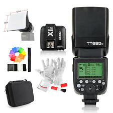 Godox TT685S HSS 1/8000S GN60 TTL Flash +X1T-S Trigger +Cover case for Sony
