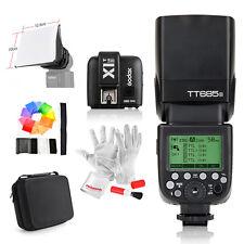 Godox TT685S HSS 1/8000S TTL Camera Flash +X1T-S Trigger +Bag for Sony A77II A7R