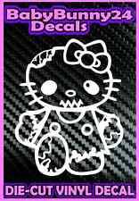Hello Kitty ZOMBIE Monster Dead Truck Car Laptop Decal Vinyl Sticker