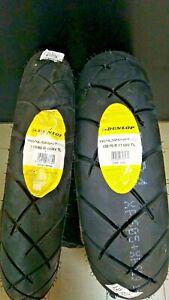 +Super!Fantastici!!Coppia pneumatici 110/80 19 + 150/70 17 Dunlop Trailsmart Max