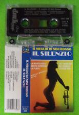 MC NINI ROSSO Il silenzio il meglio di 1988 italy DUCK DKC 348 no cd lp dvd vhs