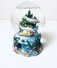 More details for seaworld musical snow globe water globe series bottlenose dolphin spinning