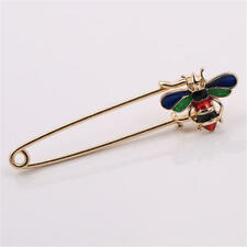 New Bee pins cardigan led drop glaze bee brooch Christmas gifts jewelry cute