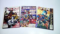 JLA Secret Files and Origins #'s 1 - 3(DC) 1997/98/00 -- VF-/VF