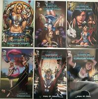 Grimm Fairy Tale: Alice In Wonderland # 1,2,3,4,5,6 set cvr B New warehouse find