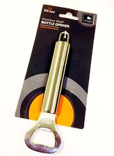 KNIGHT BRANDED Bottle Cap Opener Stainless Steel Hanging Loop