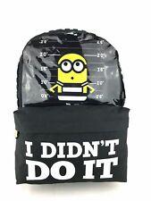 Minions Despicable Me Large Make Some Noise School Backpack Pencil Case Set