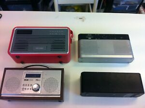 faulty/untested joblot 3 x  Radios & a philips speaker for parts.