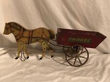 Gibbs Yankee Dump Cart Horse Drawn Antique Toy