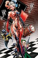 WHITE WIDOW #3 PUDDIN NAUGHTY SYMBIOTE METAL COVER SIGNED SET, COA, NM