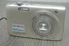 NIKON COOLPIX S3100 14.1MP Compact Digital Camera - Silver **