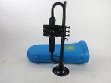 New Tiger Trumpet Bb Black with Black Trim Plastic Warburton Student