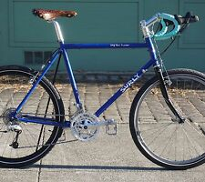 "54cm  SURLY Long Haul Trucker    Bicycle - 26"", Blue, 1-1/8"" Touring, Commuter"