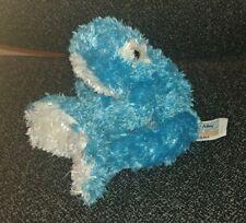 "ANIMAL ALLEY 2000 blue frog beanie bean bag plush toy 8"" rare"