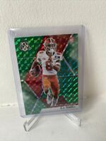 AJ Terrell 2020 Panini Mosaic Green Camo Rookie Card Atlanta Falcons NFL RC