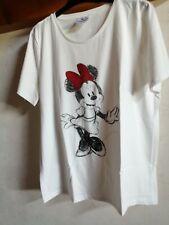 Tee shirt neuf motif Minnie marque C&A taille L soit 46-48
