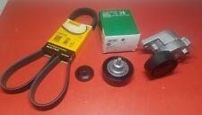 BMW Belt Tensioner+Belt+Idler Pulley Kit Set 04-06 E60 E83-528i 530i X3 Complete