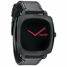 A286871 Nixon Unisex A286-871 Shutter Stainless-Steel Case BLK Dial Strap Watch