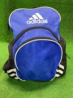 ADIDAS LOAD SPRING TRAVEL SPORTS BLUE BACKPACK Basketball Volleyball Black