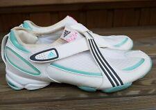 Adidas Adiprene Velcro Strap Trainers White Uk7 Eur40 2/3 Gym Dance
