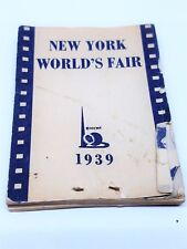1939 New York Worlds Fair Flip Book Bromo Seltzer Hula girl Vintage