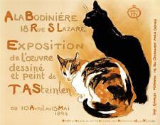 A la Bodiniere Poster Fine Art Lithograph Alexandre Steinlen S2