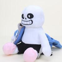Undertale Sans Plush Stuffed Doll 10'' Hugger Cushion Cosplay Doll Gifts
