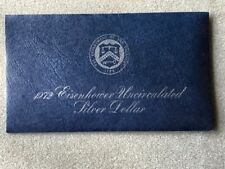 1972 Eisenhower Uncirculated Silver Dollar (Blue Ike)