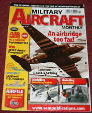 Military Aircraft Monthly Magazine Issue 8.10 Arnhem,S-3 Viking.Bf109,E2 Hawkeye