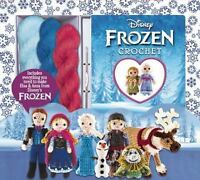 Disney Frozen Crochet: 12 Projects Featuring Characters from Disney Frozen (Hard