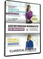 Classical Stretch S13 - Age Reversing Workouts for Beginners (DVD Box Set) New