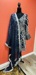 Designer Pakistani/Indian Fancy  Party Dress  XL Size