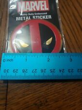 Deadpool Extreme Classic Marvel Comic Hero METAL Emblem Decal / Sticker New