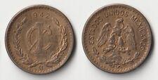 1942 Mexico 1 centavo coin